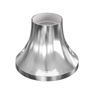 Objímka z metalizovaného plastu na stěnu nebo strop
