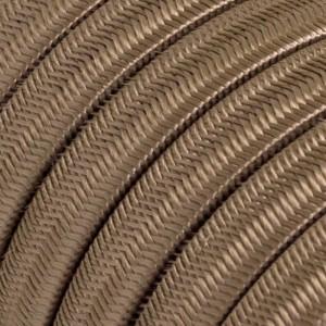 """Textilní elektrický kabel pro světelný řetěz, pokrytý textílií z umělého hedvábí - """"Cipria"""" CM27"""