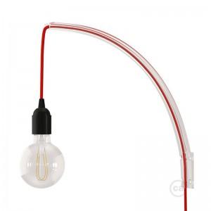 Archet(To), průhledný nástěnný držák pro závěsné lampy