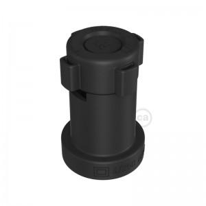 Černá E27 obímka z termoplastu pro světelný řetěz