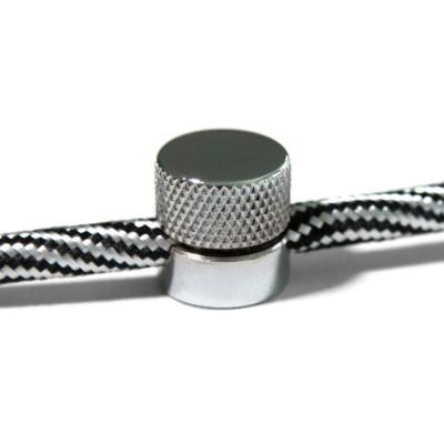 Sarè - kovová nástěnná kabelová svorka pro textilní kabely