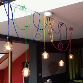 Buďte kreativní: Vincent Dugard - Hravé barevné kabely