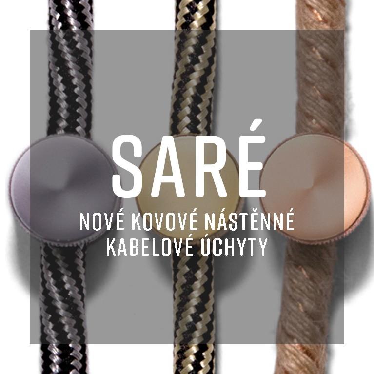SARÉ - nástěnné kabelové úchyty